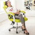 Uso doméstico de alta qualidade prático cadeira do computador do escritório de engenharia do corpo humano elevável cadeira deitada malha cadeira patrão