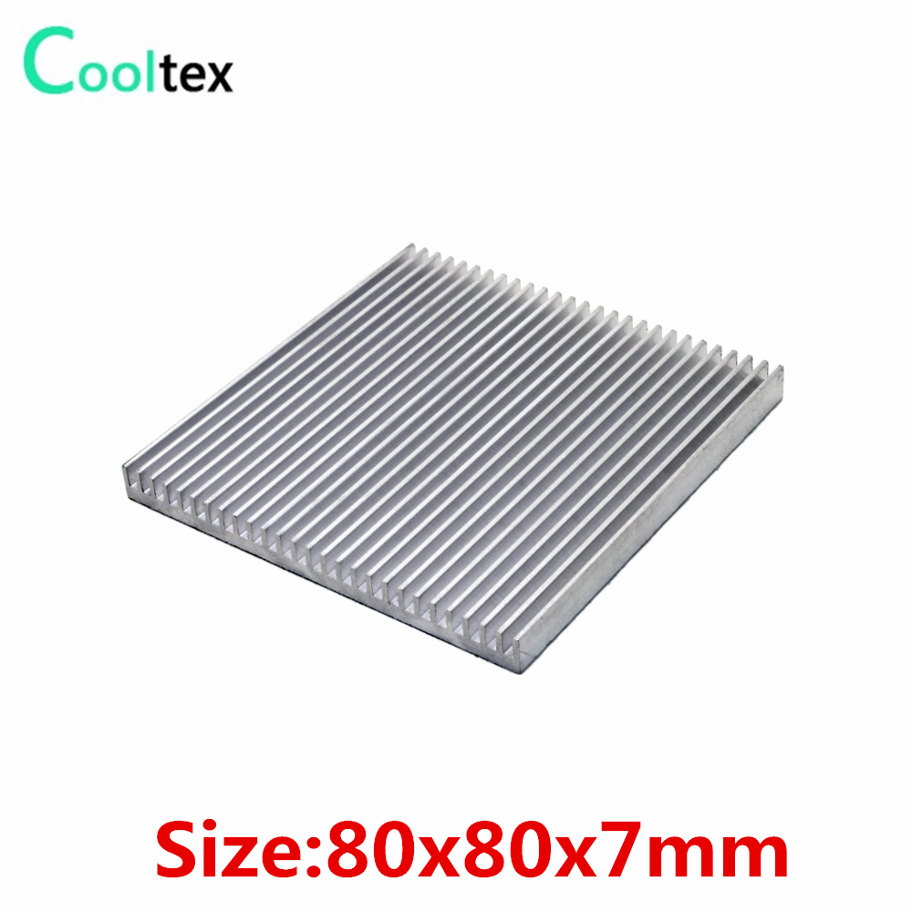 (Special offer) 80x80x7mm Aluminum heatsink Heat Sink radiator COOLER fan cooling for chip Electronic heat dissipation simulation eagle pvc animals model furniture owl figurine birds home decoration accessories decor plastic toy gift for kids