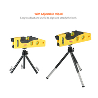 Outdoor Mode Cross Line Laser Levels Measure Tool With Tripod Rotary Laser Tool Spirit Level with Track 45 degree Measurement