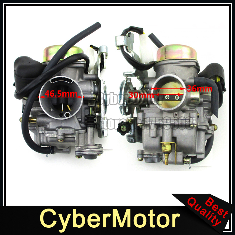 Carburetor Carb For LinHai 250cc 260cc 300cc FS300 CVK ATV Quad 4 Wheeler Dirt Pit Bike Motorcycle Go Kart Buggy black throttle base cover carburetor for honda trx350 atv carburetor trx 350 rancher 350es fe fmte tm carb 2000 2006