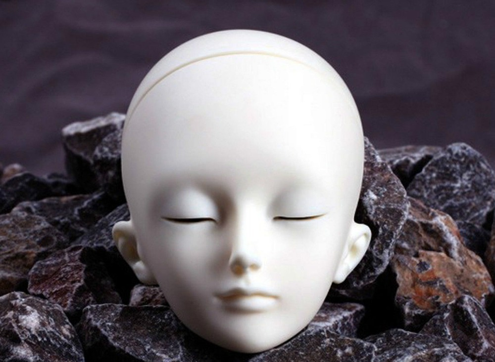 [wamami] AOD 1/4 BJD Dollfie Girl Doll Parts Single Head (Not Include Make-up)~Meng Ya Qi 1 3rd 65cm bjd nude doll bianca bjd sd doll girl include face up not include clothes wig shoes and other access