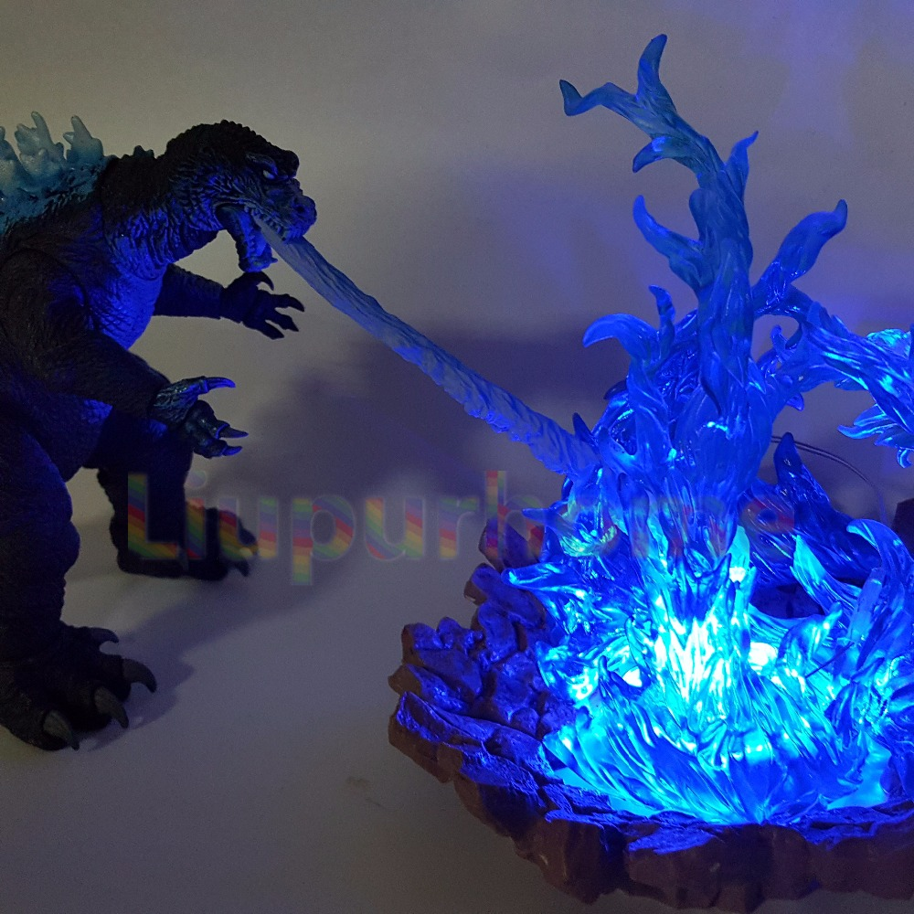 Zilla Led Cannon Blue Fire Skill Anime Movie Nightlight Lamp Model Toys Diy Set In Night Lights From Lighting On