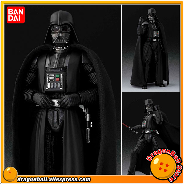 Star Wars Episode IV: A New Hope Original BANDAI Tamashii Nations S.H. Figuarts / SHF Action Figure - Darth Vader (A NEW HOPE) original bandai tamashii nations s h figuarts shf action figure kylo ren from star wars the force awakens