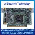 Original 2 GB NVIDIA Placa Gráfica Para ASUS A43S K43SA GA53S MGM_6730 BD REV. 2.0 Exibição Placa de Vídeo GPU Substituição Testado