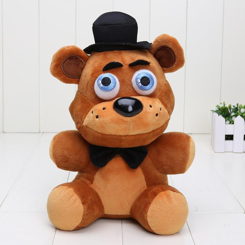 8 sztuk/partia 10 ''25 cm pięć nocy w Freddy's 4 FNAF niedźwiedź złoty Freddy koszmar Fredbear magiel foxy bonnie chica dla dzieci zabawki pluszowe w Filmy i telewizja od Zabawki i hobby na  Grupa 2
