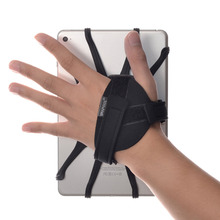 WANPOOL Hand Strap Houder met Afneembare Silicon Holding Netto voor 7 10.5 Inch Tabletten