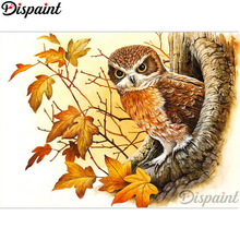 Dispaint Full Square/Round Drill 5D DIY Diamond Painting Animal bird scenery 3D Embroidery Cross Stitch Home Decor Gift A12305 dispaint full square round drill 5d diy diamond painting teacup bird scenery 3d embroidery cross stitch 5d home decor a18408
