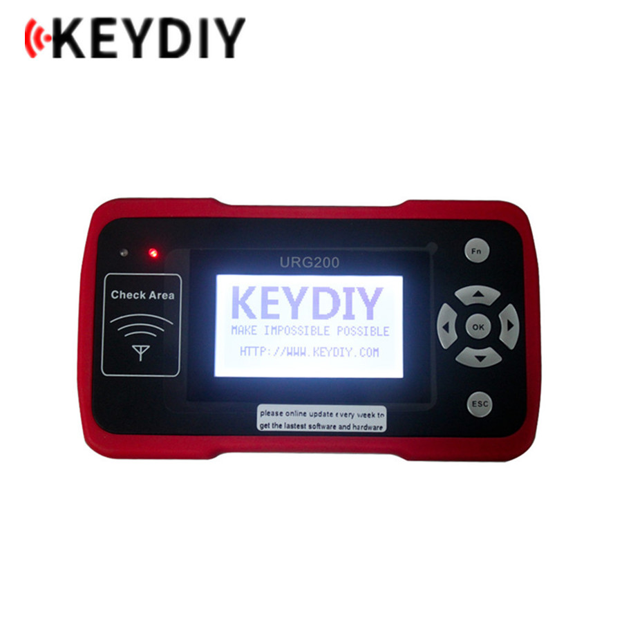 KEYDIY URG200 Remote Maker the Best Tool for Remote Control World with 1000 Tokens Support 1 Button Smart online Update