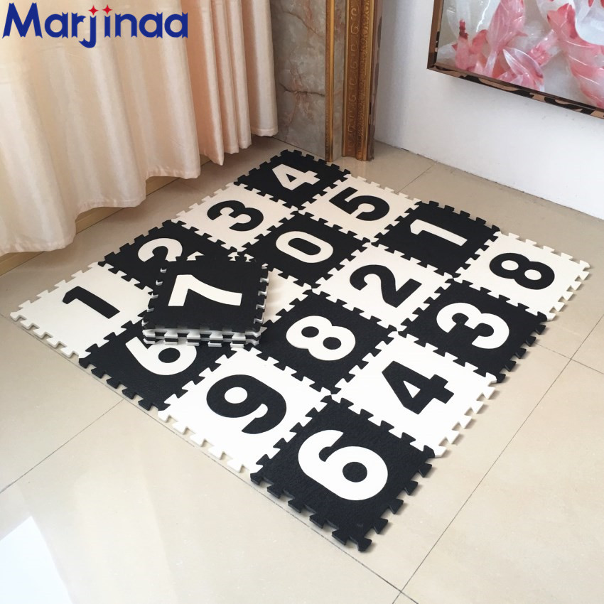 Marjinaa Plus 10pcs Pack Baby And Children Play Floor Mat