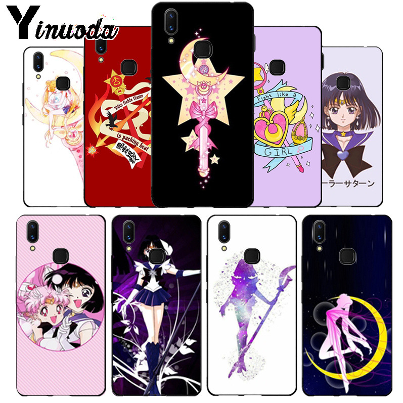 Cellphones & Telecommunications Phone Bags & Cases Temperate Yinuoda Pretty Guardian Sailor Moon Cartoon Funda Coque Phone Case Cell For Vivo V9 V7 Y83 X20 X20plus X21 Plus Nex S Case Coque In Many Styles
