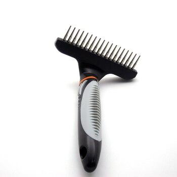 Stainless Steel Hair Removal Rake  1