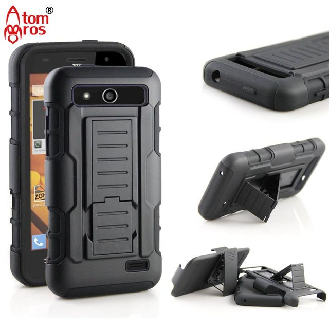 Rugged Belt Clip Holster Cover Hard Armor Case For ZTE Speed N9130 Cases Phone Shell Skin Capa Fundas Kickstand