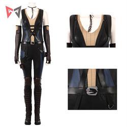 Athemis фильм X-men Neena Thurman Комбинезоны Косплей обтягивающий костюм комплект высокого качества