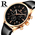New Montre homme Mens Watches Top Brand Luxury Military Sport Luminous Wristwatch Leather Quartz Watch relogio masculino