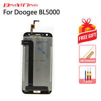 BingYeNing New Original For Doogee BL5000 Touch Screen + LCD Display Assembly Replacement