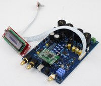 New AK4497 DAC decoder board/DIY amplifier board excluding XMOS U8 usb card