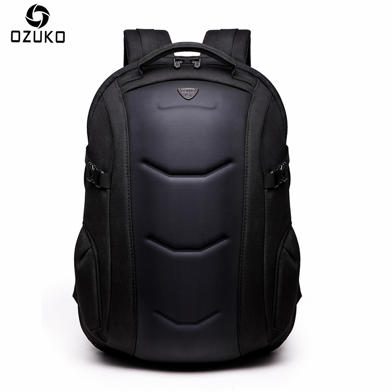 2018 OZUKO Fashion Men Backpack Casual Anti-theft 15.6 inches laptop Backpack Business Computer Bag School Backpack For Teenager