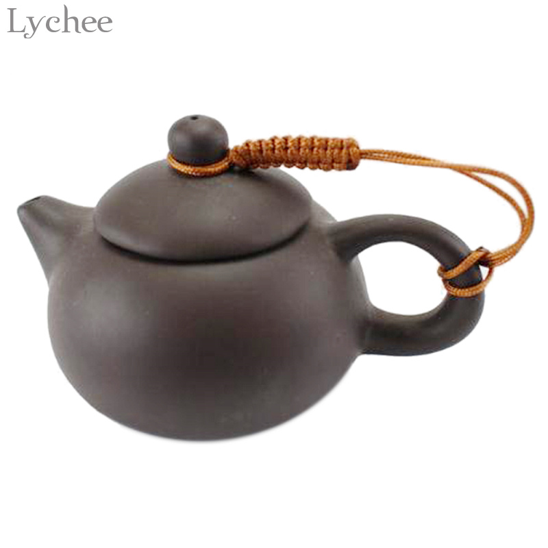 Lychee 10pcs Handmade Teapot Ropes Colorful Braid Teapot Handle Tied Rope Home Kitchen Teaware Accessories