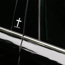 4x Car Sticker Decal Cross Reflective Vinyl 2 Colors Tuning Phone iPad Tablet Auto Motorcycle Car Styling Accessories