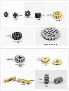 Image 3 - Technic bloques de construcción a granel, 250g, estante con ruedas, accesorio de coche MOC, Conector de Pin, juguetes compatibles con Lego