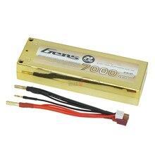 7.4 В 7000 мАч 50C 2 S Перезаряжаемые lipo Батарея большой Ёмкость t/заполнения баланса RC высокое качество бесплатная доставка
