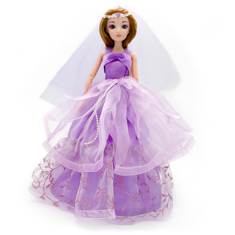 Cute-Pretty-Doll-Toys-High-Quality-Silicone-Movable-Joint-Body-Princess-Wedding-Dress-Dolls-Best-Gift-for-Girl-Kids-13-Colors-3
