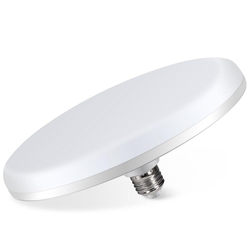 Купить с кэшбэком LED light bulb super bright high power UFO lamp E27 living room ceiling lamp factory workshop lighting home energy-saving light
