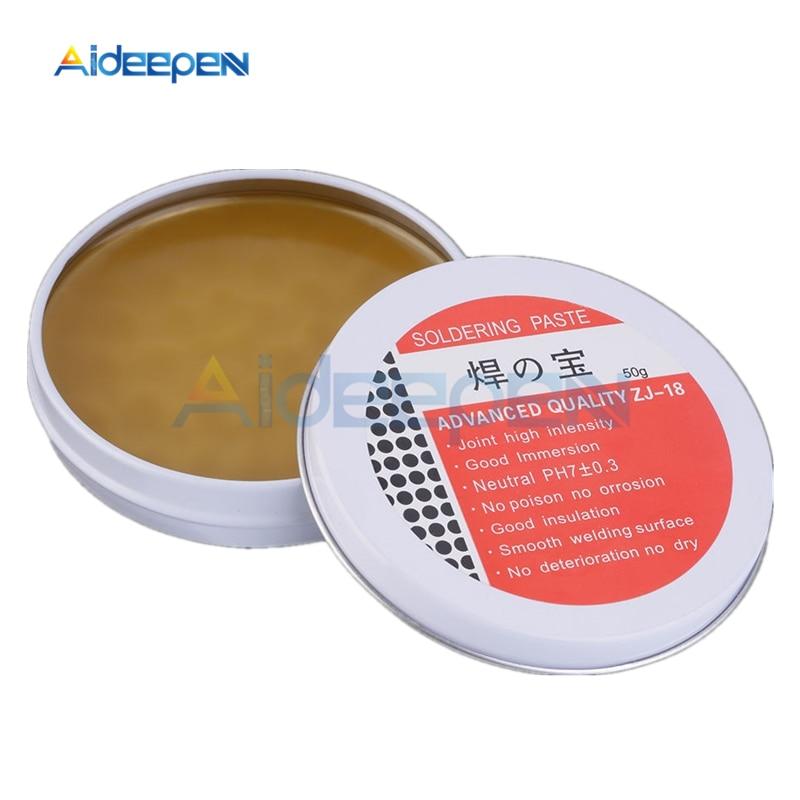 50g Soldering Paste Mild Rosin Environmental Soldering Paste Flux PCB IC Parts Welding Soldering Gel Tool For Metalworking
