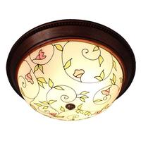 Pastoral Videiras Bedroom Ceiling Light Classic Washroom Ceiling Lamps Kitchen Balcony Ceiling Lights Fixtures