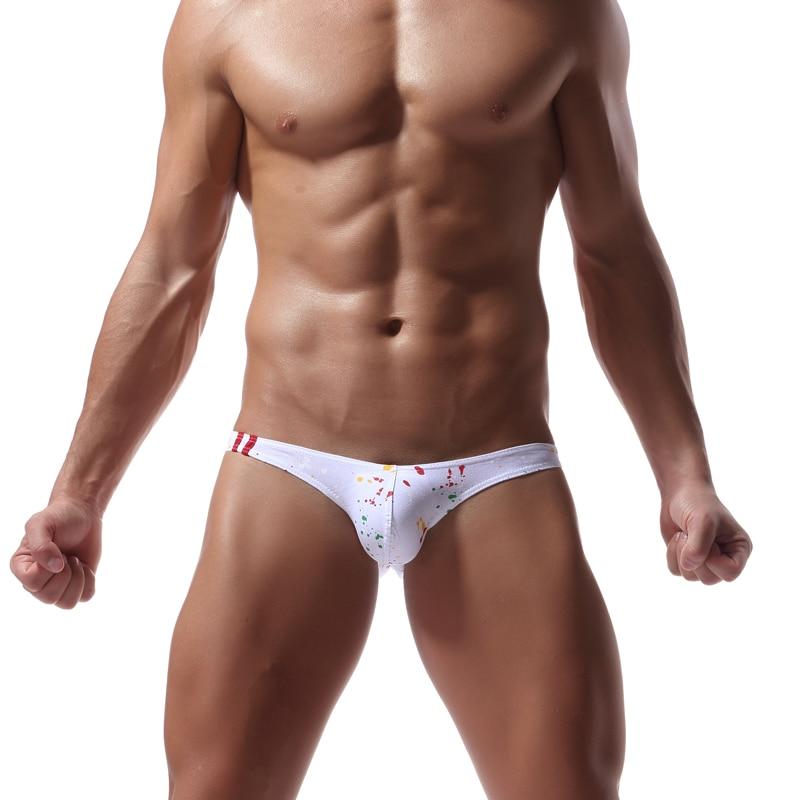 Men Swimwear Breathable Sexy Swim Briefs Swimsuit Men's Beach Swimwear