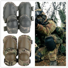 Outdoor Tactical Military Outdoor Paintball Sport Knee &