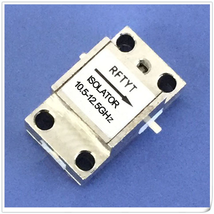 10.5-12.5GHz Microstrip Line RF Communication Isolator 11G Isolator Can Be Customized WG0915D-1