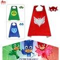 L27 * PJ 1 capa + 1 máscara para los niños regalos de Carnaval del partido cosplay traje de la Navidad del cabo Campamento de Verano para 4-9 años de edad