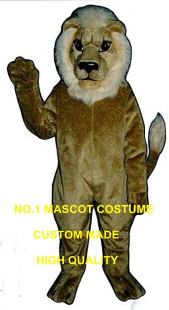 Leone mascotte costume haute qualité personnalisé crinière lion thème anime cosplay costumes fursuit carnaval déguisements kits 2732