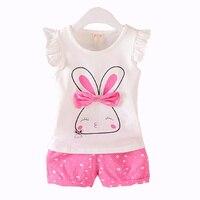 Baby Girls Clothes Little Baby Clothes Sets Cotton T Shirt Pants Newborn 2 Pcs Suit Cute