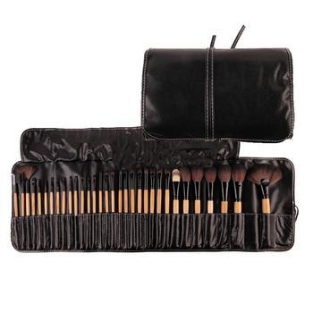 32/24pcs Professional Makeup Brushes Set Make Up Powder Brush Beauty Cosmetic Tools Kit Eyeshadow Lip Brush Bag 9pcs professional makeup make up cosmetic brush set kit tool with leather bag