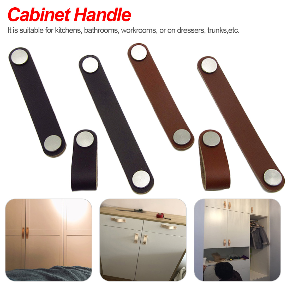 1pc European Style Furniture Door Pull Handle Knob For Suitcase Cabinet Drawer