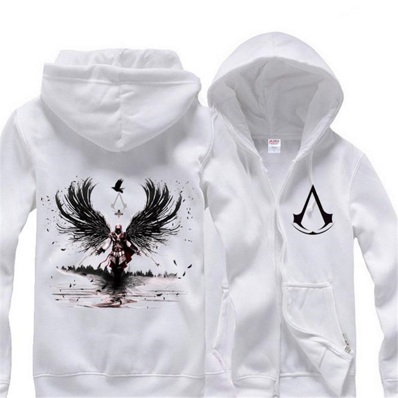 Anime Cosplay Assassins Creed Male and female common Sweater coat