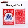 King magic card svengali cubierta magic trucos magic prop envío libre