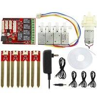Elecrow Automatic Smart Watering Kit For Arduino Electronic DIY Plant Watering Kit Pump Soil Moisture Sensors