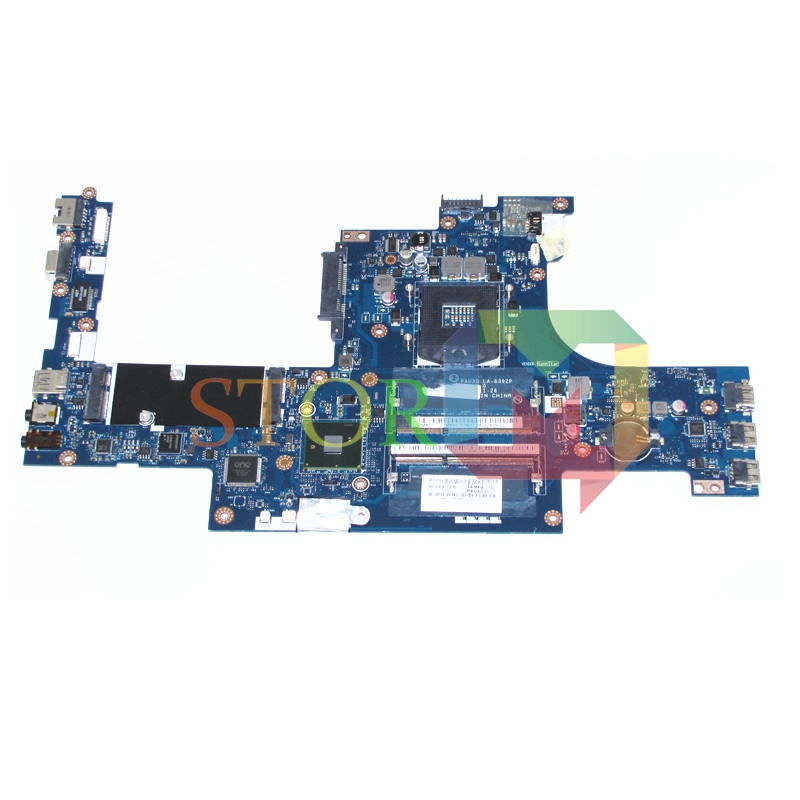 NOKOTION For Acer Iconia 6120 Laptop Motherboard PAU30 LA-6392P MBRF702001 MB.RF702.001 HM55 DDR3 Free CPU