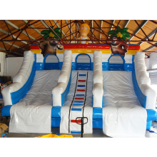 2016 Hot Sale Factory Direct Giant Inflatable Slides for Pool /commercial inflatable slide commercial fun backyard bounce house blow up inflatable water slides with pool for rent