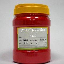 500 г бесплатно красный цветной натуральный жемчуг слюда пудра для ногтей искусство, макияж, eyshaow, перламутровый порошок пыль пигмент для украшения