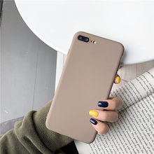 For Vivo V11 Pro Y81 Y81i Y81S Y85 V9 Y71i Y53 2017 Case Soft Candy Color Plain Matte Many Colors Cover Mobile Phone Bag Coque(China)