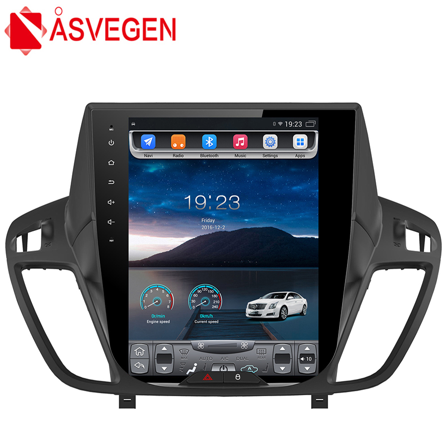 Asvegen Tesla Style 10.4 inch Android 6.0 Quad Core Car Multimedia DVD Player Radio For Ford Kuga 2013-2017 Auto GPS Navigation