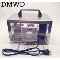 DMWD 220V Air Purifiers Ozone Generator 20000mg H Ozonator Portable Ozonizer Air Cleaner Remove Smoke Odor