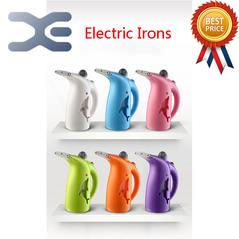 ФОТО 2Per Lot Free Shipping Handheld Garment Steamer Mini Steam Iron Steam Brush 280ML Large Capacity