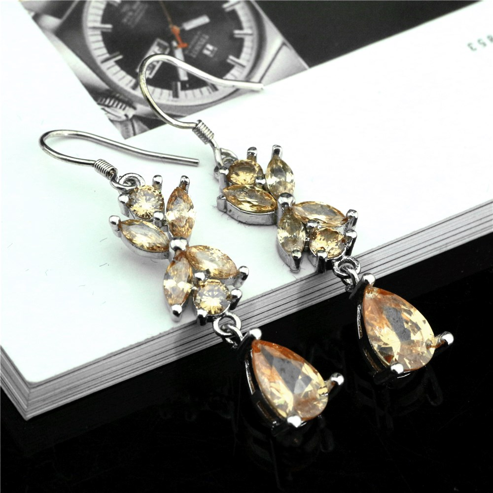 925 sterling silver earrings lengthened zircon luxury female earrings personalized charm jewelery earrings