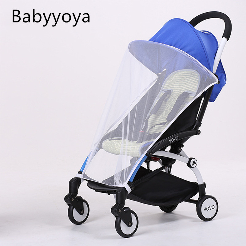 mosquito net suitable for yoya stroller yoyo yuyu babysing vovo accessoire poussette puset. Black Bedroom Furniture Sets. Home Design Ideas