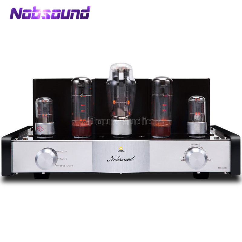 Nobsound MS-50D Class A EL34 Vacuum Tube Amplifier Stereo Power Amplifier With BluetoothNobsound MS-50D Class A EL34 Vacuum Tube Amplifier Stereo Power Amplifier With Bluetooth